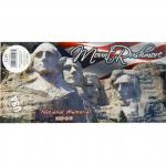 "MOUNT RUSHMORE 3""X5"" BUMPER STICKER"