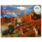 BADLANDS STICKER COLLAGE