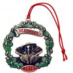 DEADWOOD PEWTER WREATH ORNAMENT