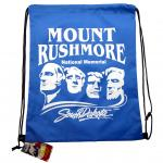 MOUNT RUSHMORE DRAWSTRING BAG