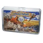 SOUTH DAKOTA  ACRYLIC BOX PLAYING CARDS