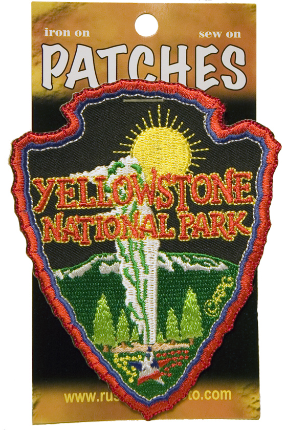 YELLOWSTONE ARROWHEAD PATCH