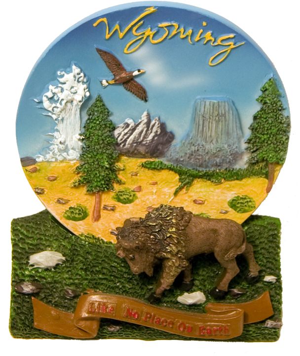 WYOMING POLY PLATE WITH STAND